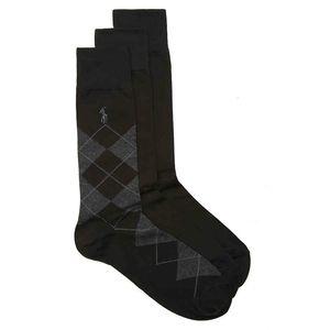 Polo Ralph Lauren Argyle Men's Dress Socks 3PK